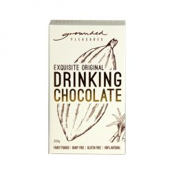 Grounded pleasures drinking choc